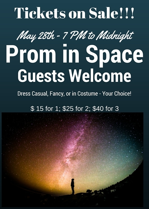 Prom Tickets – Now on Sale